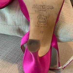 Jimmy Choo Shoes - Jimmy Choo HOT PINK heels!  Incredible condition.